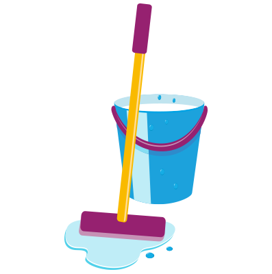 Mopping floors | cleaning services blackpool